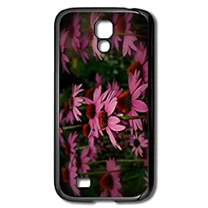 AOPO Phone Cover For Galaxy S4 Designed Galaxy S4 Cover Case-Pink Flowers