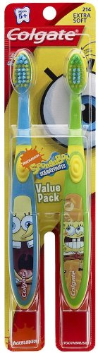 Price comparison product image Colgate Kids Twin Pack Toothbrush, Spongebob