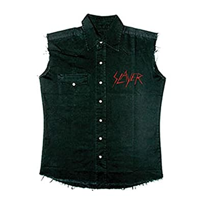 SLAYER BLACK EAGLE Camisa De Trabajo Sin Mangas / Work Shirt M: Amazon.es: Música