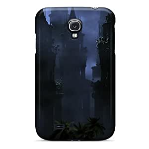New CxGpvYr6690otJmR Gothic Towers Tpu Cover Case For Galaxy S4