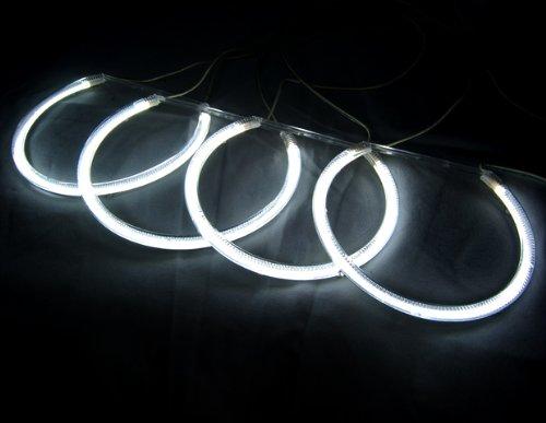 Sedan Models (Excellent Impressive 7000K Angel Eye Halo Ring Light Lamp CCFL For BMW E46 3-Series 1999-2005 4 Door Sedan Models)