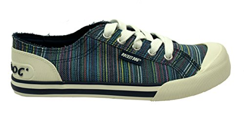 Rocket Jazzin Dog Femme Mode Navy Baskets rZrwp