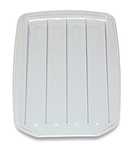 REAL HOME Innovations 009-09133 Drain Board, Large, Clear