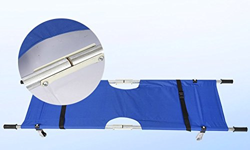 Aluminum alloy Folding Stretcher for Patients, Ambulance, Paramedic, First Aid by Unknown