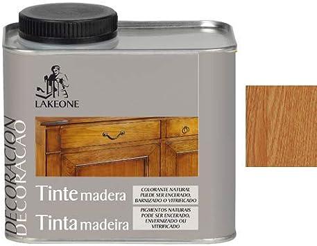 Lakeone 50101/1/2L.06 Tinte para La Madera, Caoba, 450 ml