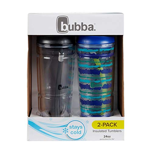 Bubba 24 oz. Envy Tumbler Double Wall Insulated with Straw, 2 Pack