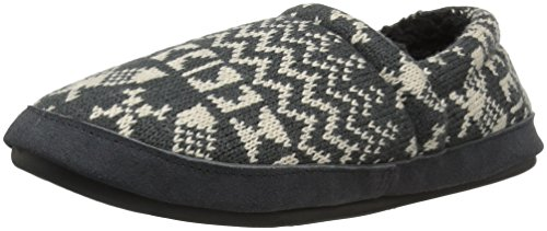 Woolrich Charcoal Knit Snowshoe Women's Slipper Whitecap UgUHrSRPqB