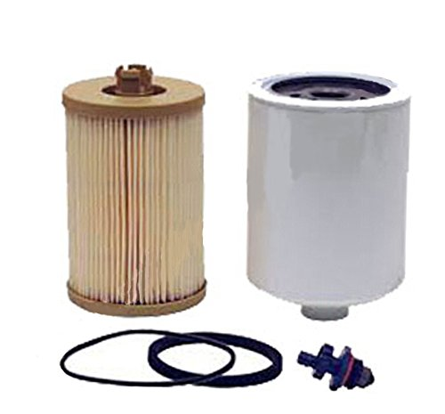 RE525523 Fuel Filter Kit fits John Deere JD Excavator Models 250D 300D 850J 724K
