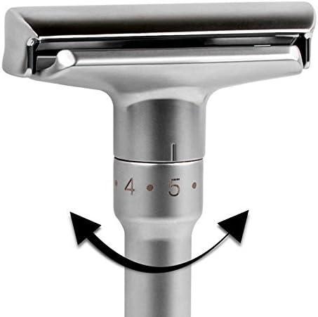 Calidad ajustable doble borde – Maquinilla de afeitar: Amazon.es ...