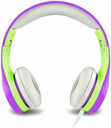 FSL Protec Kids Headphones with Adjustable Volume Limiting Green