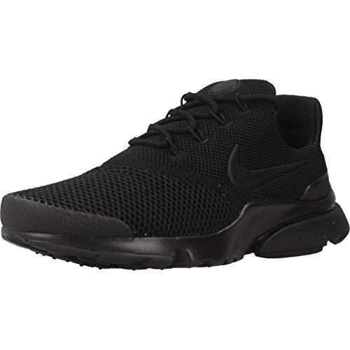 Fly Mujer Black black 001 Deporte Presto Wmns para Nike Zapatillas Black Negro de wSF1nqqE