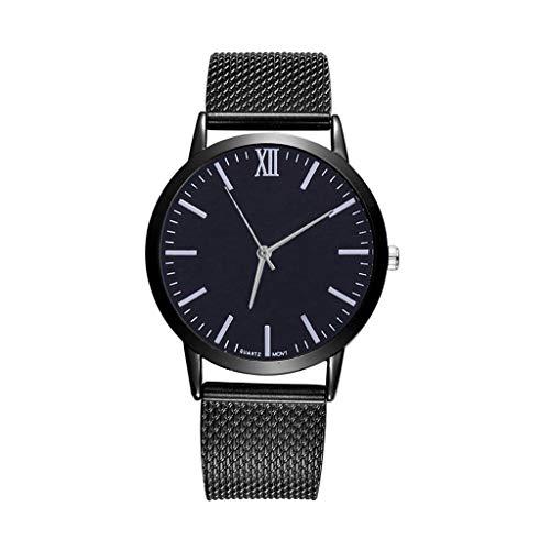 Garish❤️❤️ Women's Watch Analog Quartz Stainless Steel Wristwatches, Mesh Band Casual Wrist Watches,Unisex Sports Watch ()