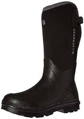 "LaCrosse Men's Alpha Range 14"" Work Boot, Black, 7 M US"