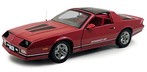 Sunstar Diecast Cars (1985 Chevrolet Camaro IROC-Z Red 1/18 Diecast Model Car by Sunstar 1941)