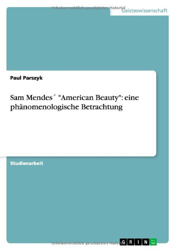 american beauty 1999 summary and analysis Executive summary walmart  executive summary even by american standards,  a strategic management analysis for wal-mart stores incorporation.