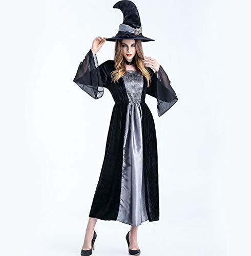Kostüm Halloween Langekleider Spinnen Hexe Eraspooky 001 GYH Renaissance Frauen Damen Sqx8nwg0