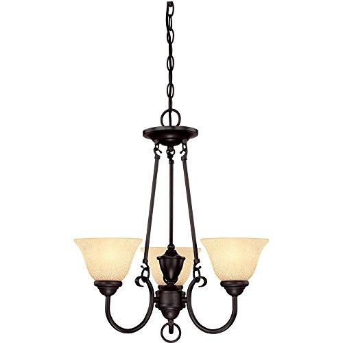 (Westinghouse Lighting 6222400 Elena Three-Light Interior Chandelier, 19.13