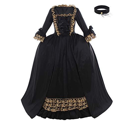 CosplayDiy Women's Rococo Ball Gown Gothic Victorian Dress