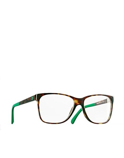 935bbcb524b CHANEL CH 3230 1337 54mm Eyeglasses Tortoise w Green Tips  Amazon.ca ...