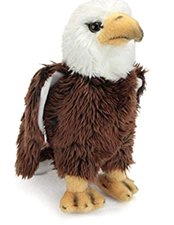 Amazon Com 9 Cc Bald Eagle Bird Plush Stuffed Animal Toy Baby