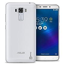 Asus Zenfone 3 Laser Case, CoverON® [FlexGuard Series] Slim High Quality Soft Flexible TPU Rubber Phone Cover Case for Asus Zenfone 3 Laser ZC551KL - Clear