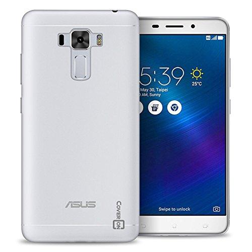 Asus Zenfone 3 Laser Case, CoverON [FlexGuard Series] Slim Soft Flexible TPU Rubber Phone Cover Case for Asus Zenfone 3 Laser ZC551KL - Clear
