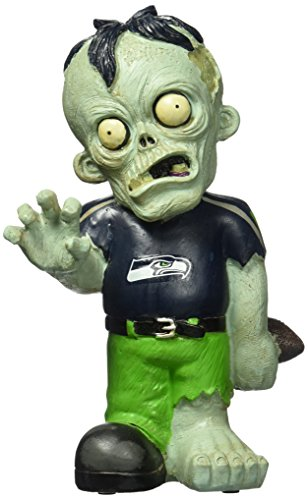 FOCO Seattle Seahawks Resin Zombie Figurine
