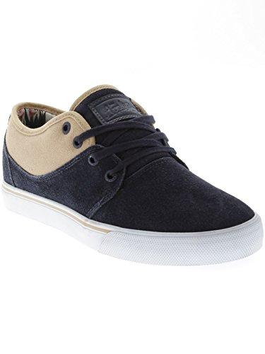 GlobeMahalo - Zapatillas Unisex adulto Negro - azul oscuro