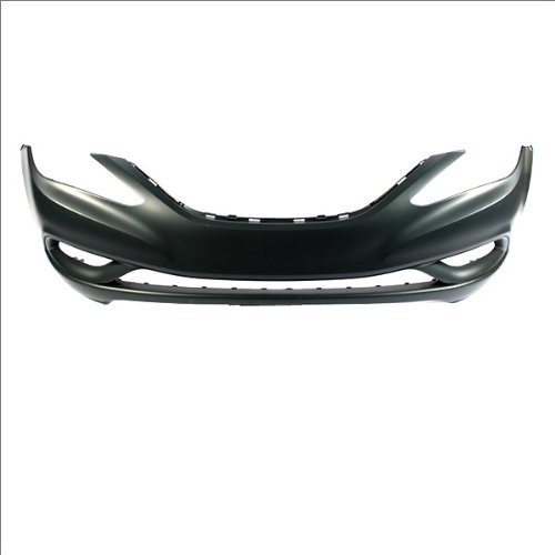 CarPartsDepot, Unpainted Front Bumper Cover Replacement Sedan 4-Dr, 352-222020-10-PM HY1000183 865113Q000
