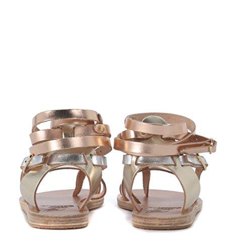 Pelle Ancient Oro Satira Sandals Sandalo Greek In XxxBw7CvTq