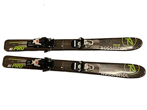 Rossignol Experience E pro Kids Skis 93cm with Rossigol Kid Size Adjustable Bindings Pair New
