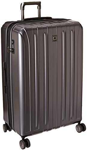 29 Spinner - Delsey Luggage Helium Titanium 29 Inch EXP Spinner Trolley Metallic, Graphite, One Size
