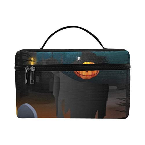 Halloween Lunch Box Tote Bag Lunch Holder Insulated Lunch Cooler Bag For Women/men/picnic/boating/beach/fishing/school/work -