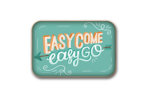 Studio Oh! Easy Come Easy Go Medium Metal Catchall Tray