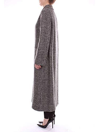 Blanco A06206116 Y Negro Abrigo Mujer Moschino Boutique xqICC7
