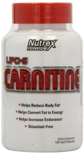 Nutrex Lipo 6 Carnitine, Liquid Capsules, 120 Count
