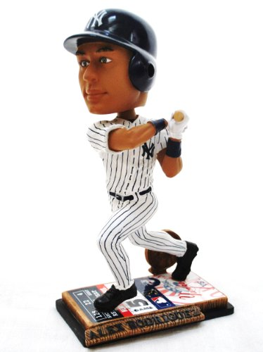 New York Yankee Official MLB #13 Alex Rodriguez rare ticket base action Bobble Head by forever