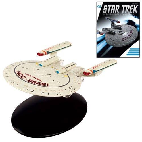 Star Trek Diecast - Star Trek Starships New Orleans Class Die-Cast Vehicle with Collector Magazine #95