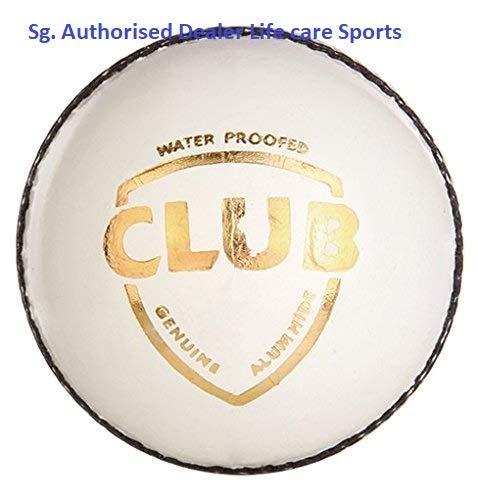 SG Club White Cricket Ball