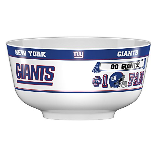 Fremont Die NFL New York Giants Party Bowl, 14.5