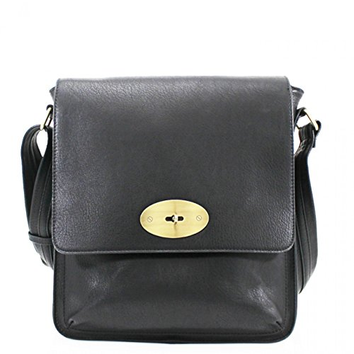 Flap Bag D9cm Women Shoulder Faux Body Handbags For Tote Across Leather W27cm LeahWard® X Mum's Cross Body Grab Women's High Black Quality H31cm Girls Bag X 4wnCHtq