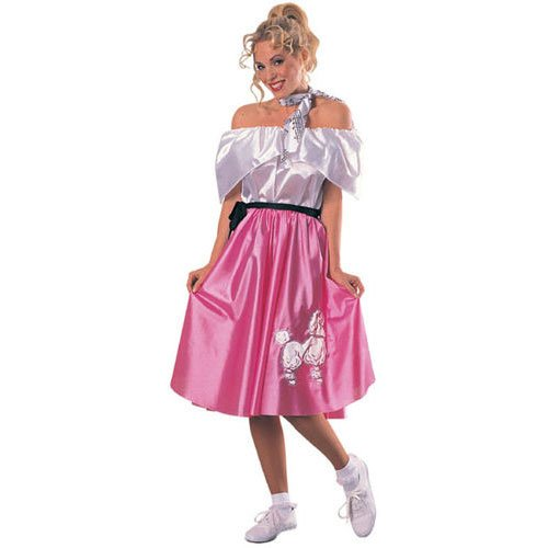 Adult Teeny Bopper Costume, Medium (Teeny Bopper Costume)