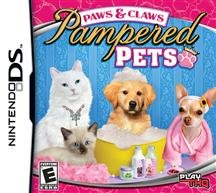 New Thq Paws Claws Pampered Pets Kids Vg Nintendo Ds Platform Create Custom Jeweled Collars ()