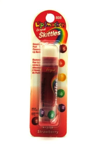 Skittles Lip Smackers Lip Gloss (Strawberry Fraise) 0.14 Oz
