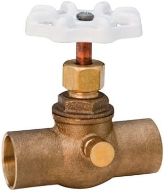 2XL 726-LF 3//4 290827 Compression Stop /& Waste Valve C X C 3//4 Lead Free