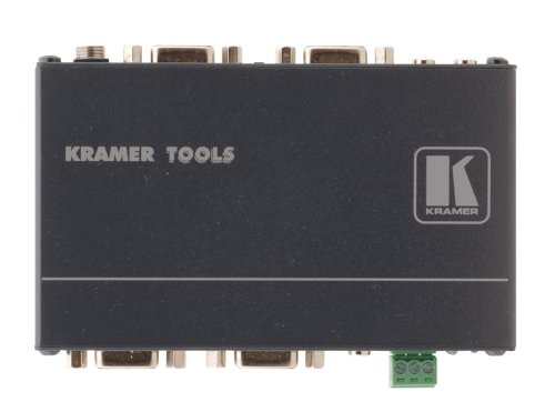 Kramer Electronics VP-211K 2x1 Computer Graphics Video & Stereo Audio Standby Switcher, 300MHz Bandwidth, Kr-isp Sync Processing, Looping Input ()