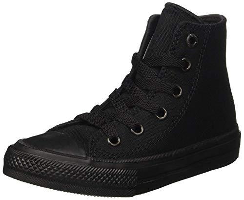 Converse Mens Chuck Taylor All Star Sneaker Hi Top 2 Black/Black 8