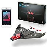 POWERUP FPV Twin Engine Smartphone Controlled Paper Airplane with Wide Angle Camera