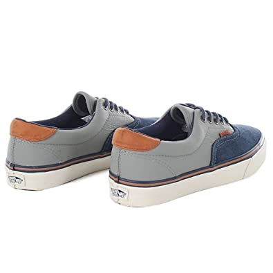 75f62daee2 Vans Era 59 Ca Shoes - (Leather Suede) Dress Blue Moon Mist 79501   Amazon.co.uk  Shoes   Bags