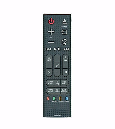 Replacement AH59-02630A Remote for Samsung HT-H6500WM, HT-H6530WM, HT-H7500WM, HT-H7730WM Home Theater Systems